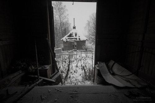 ロシアの廃村19