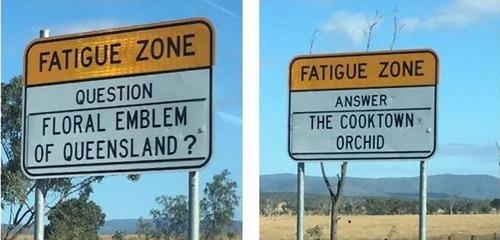 オーストラリアの標識02