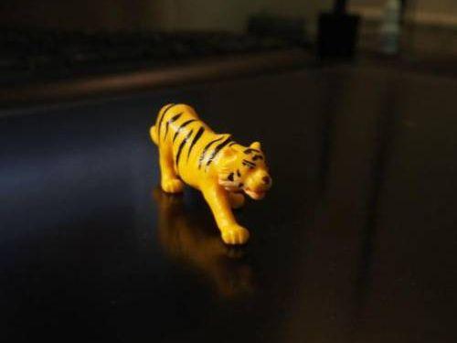 虎のフィギュア00