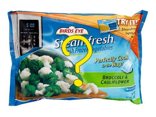 スーパーで冷凍食品を買ったら00