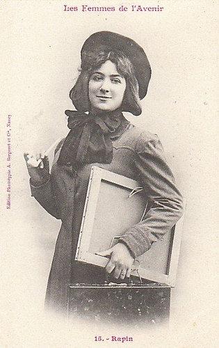 100年前に想像した未来の女性像15