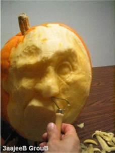かぼちゃ彫刻04