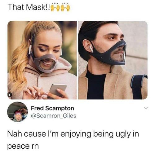 このマスクは嫌だ01