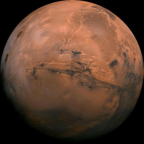 最もクリアーな火星の画像01