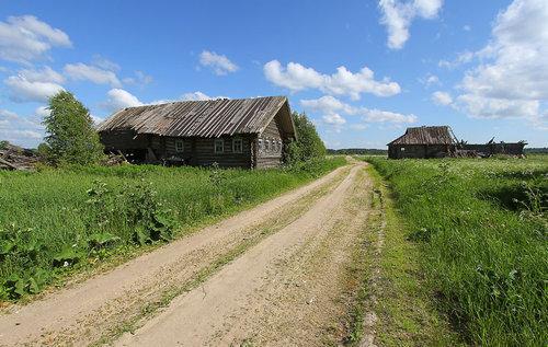 ロシアの廃村27
