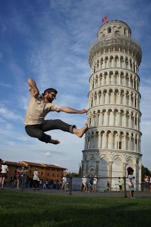 ピサの斜塔の記念写真は進化していた04