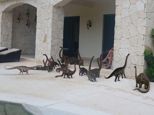ミニサイズのブロントサウルス06