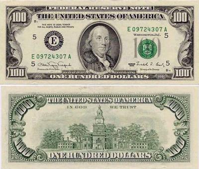 100ドル札 02-1990