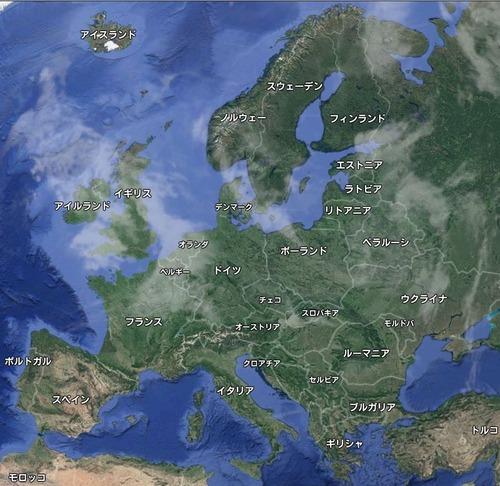 ヨーロッパはどれくらい森に覆われているのか02