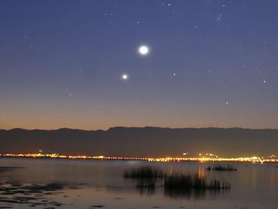 金星と木星(切り取り)