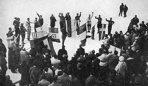 第1回1924年の冬季五輪01