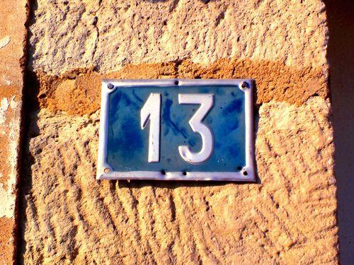 不吉なので13番地を廃止