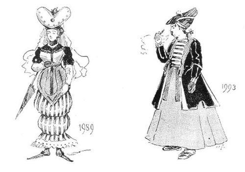 19世紀に想像した20世紀のファッション23