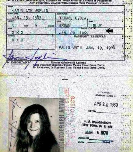歴史上の有名人のパスポート13