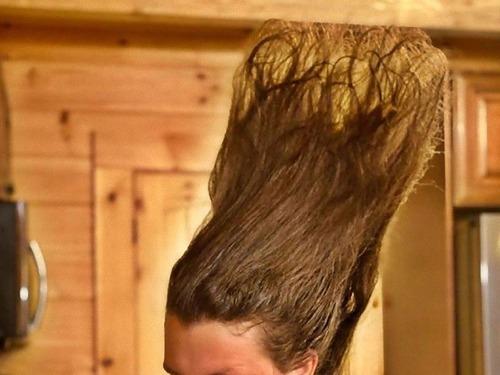 長髪な彼氏のヘアスタイルを魔改造00