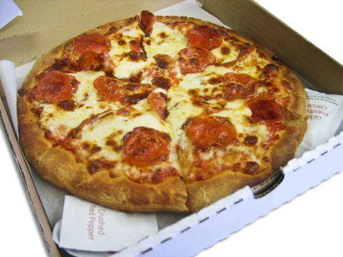 ピザの箱にメッセージ00