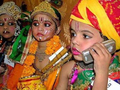 インドの携帯00