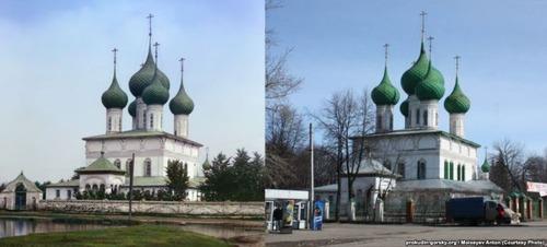 ロシア帝国時代の写真と現在03