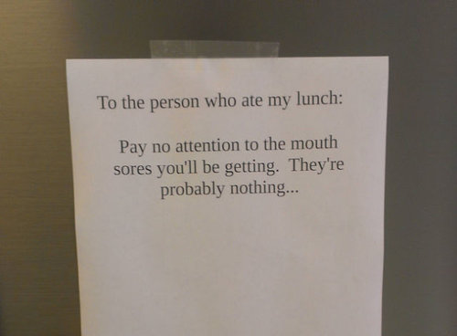 オフィスで見かけたらクスっとなるメモ 11