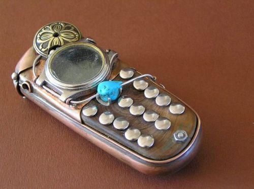 スチームパンクな携帯08
