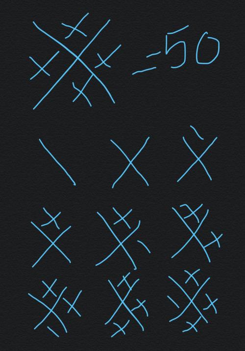 画線法04
