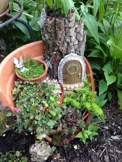植木鉢が割れたら捨てずにこんな風にリサイクル09