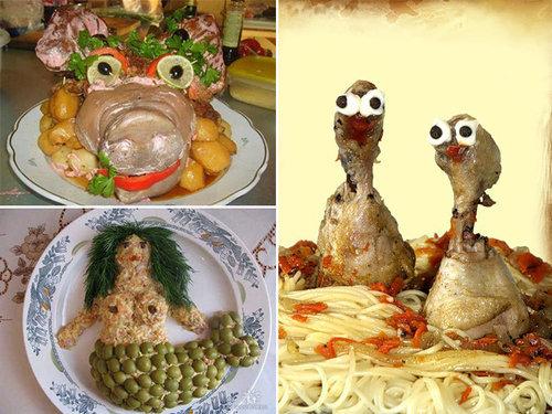 ロシア流の料理デコレーション00