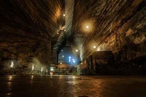 ルーマニアの塩鉱山02
