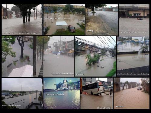 大雨のリオ・デジャネイロ04