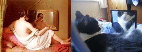 猫で再現するあの名画19
