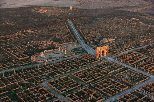 アフリカにあるローマ時代の群居地01