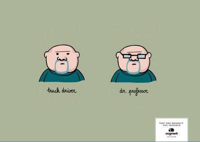 メガネの有無で印象が変わるイラスト01
