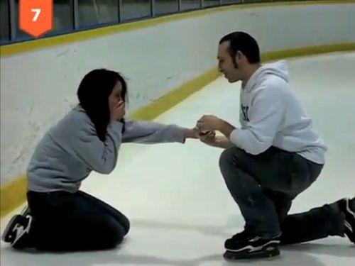 感激のプロポーズ