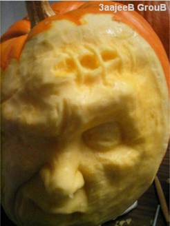 かぼちゃ彫刻08