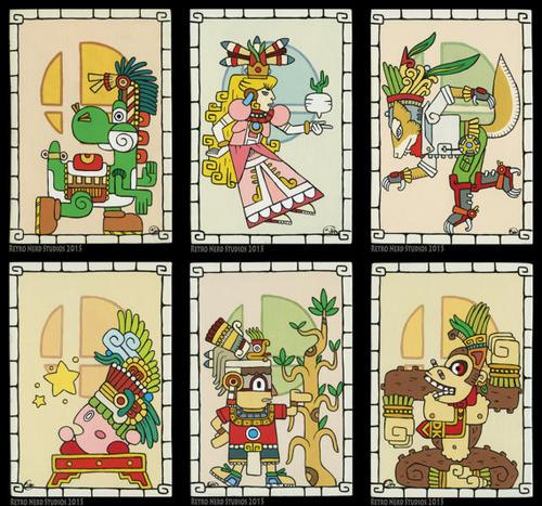 「マヤ文明」風のポケモン04