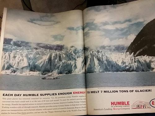 石油会社の広告01