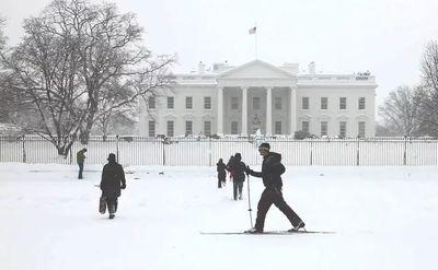 大雪の米国首都02