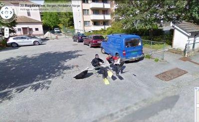 ノルウェー人のGoogleストリートビュー01