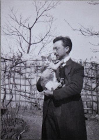 芸術家と猫 wassiykandinsky