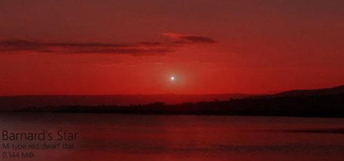 夕日を太陽以外の恒星にしたら02