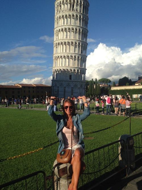 ピサの斜塔の記念写真は進化していた11