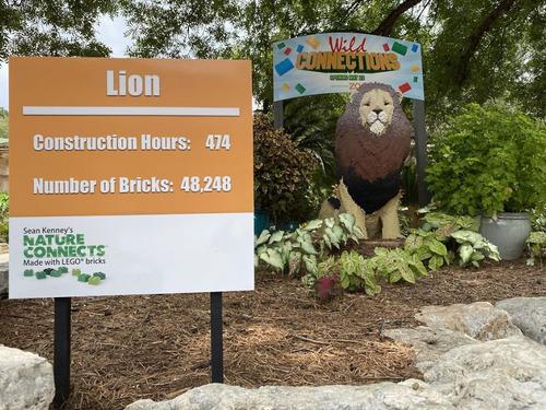 サンアントニオ動物園がレゴの動物を展示15