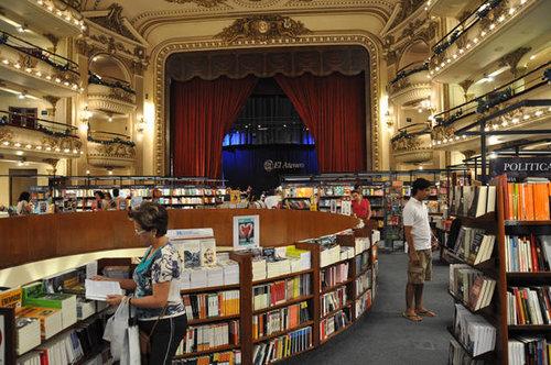 世界一美しいブエノスアイレスの本屋03