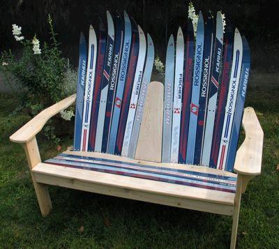 いらなくなったスキー板を活用する方法04