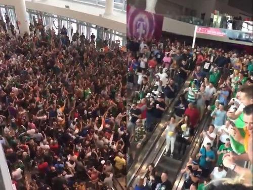ラスベガスでアイルランドの群衆がすごい00