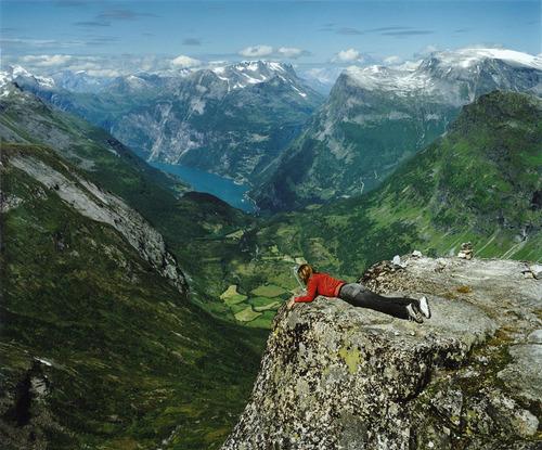 ノルウェーの絶景01