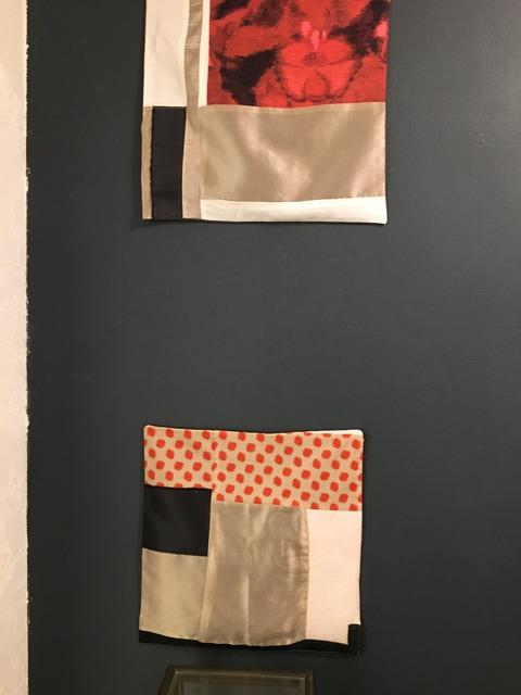 Nathalie Delafontaine - textile collage