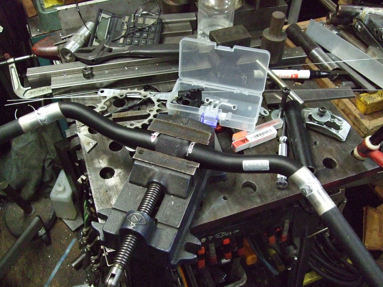 自転車の 自転車 アルミフレーム 修理 : Crafthouse:2012年10月 - livedoor Blog ...