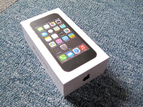 iPhone 5s 箱