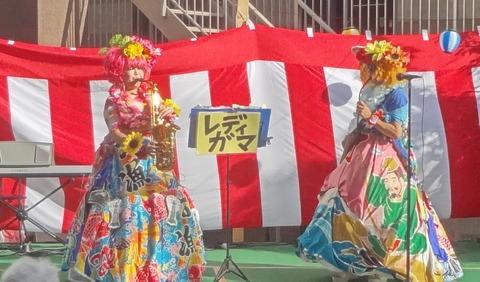 20170806大漁旗ステージドレス